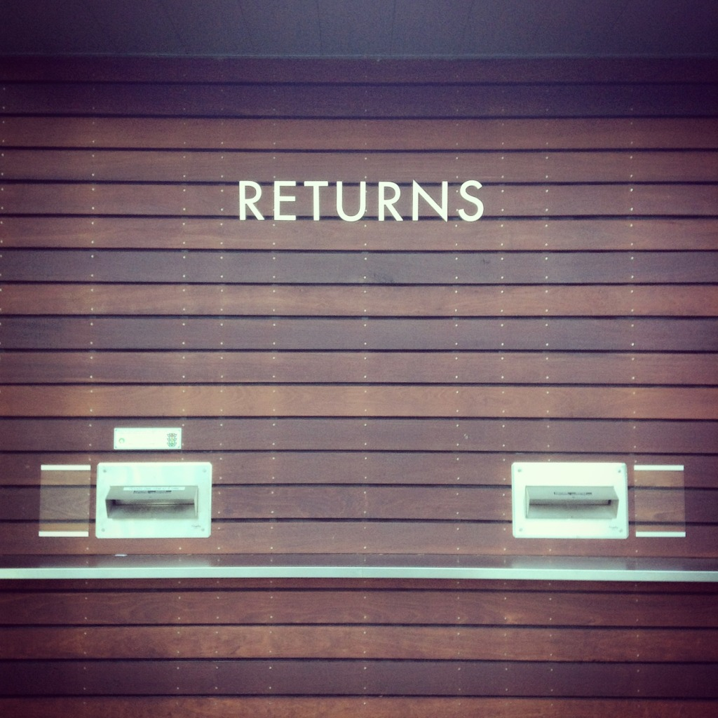 returns - library