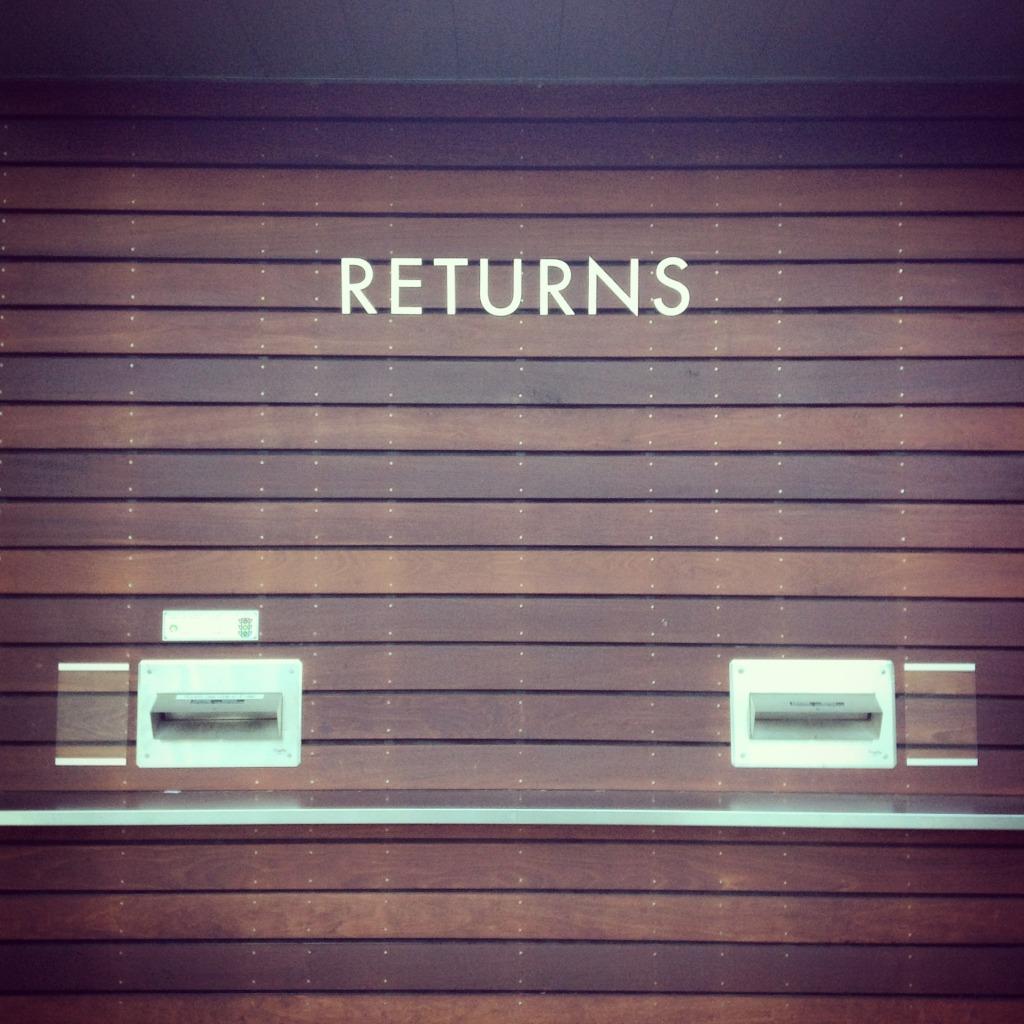returns - library